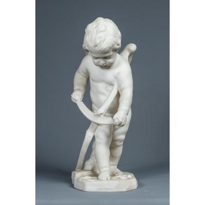 Cupidon Taillant Son Arc