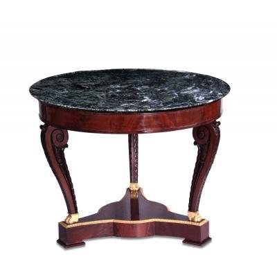 Guéridon, table à encas d'Epoque Empire