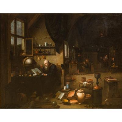École Flamande Du XVIIe Siècle, Atelier De David Teniers