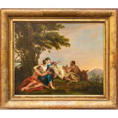 Transformation De Io En Génisse, Portée De Noël Hallé (1711 - 1781)