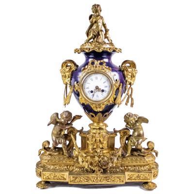 Horloge De Table, 19ème Siècle, France