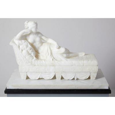 Paolina Bonaparte As Winner Of Venus, XIXth Century