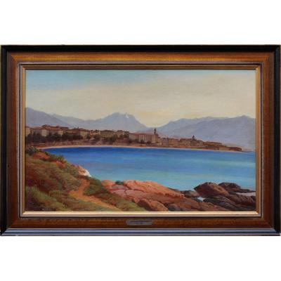 Landscape Of The Lake, Karl Rudolf Hugo Jonas (1822 - 1888)