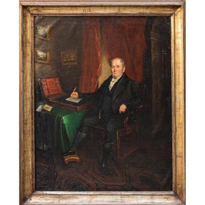 XIXe Siècle, Portrait d'Un Gentilhomme
