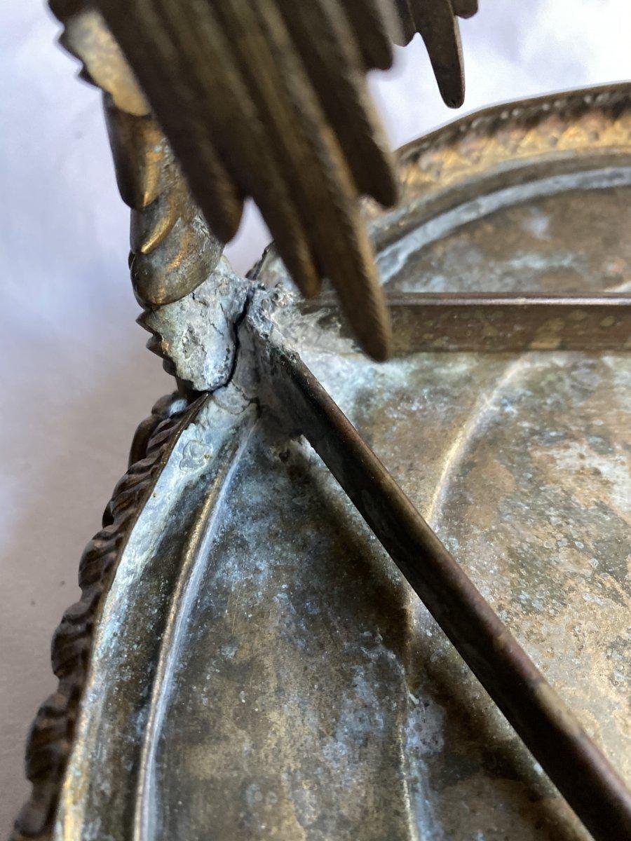Trépied En Bronze  De Pompéi d'Après Le Modèle Antique - Naples  Italie  XIXe Siècle.-photo-5