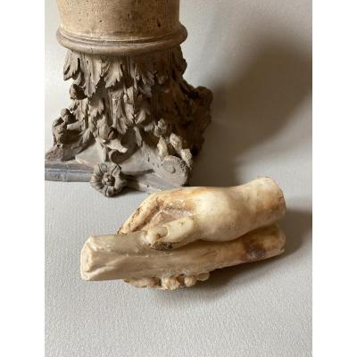 Antique Marble Hand - Ancient  Roman Art