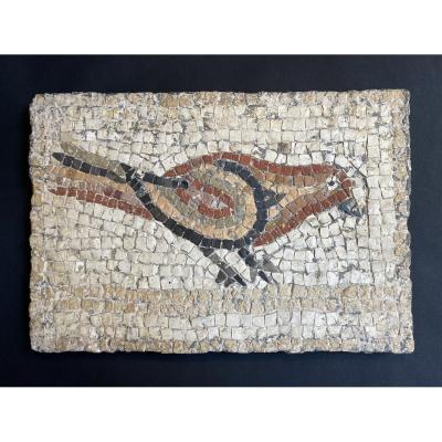 Rare Ancient  Mosaic From Roman Period 2nd - 3rd Century