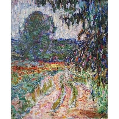 Paysage Impressionniste Par Martin-Ferrieres