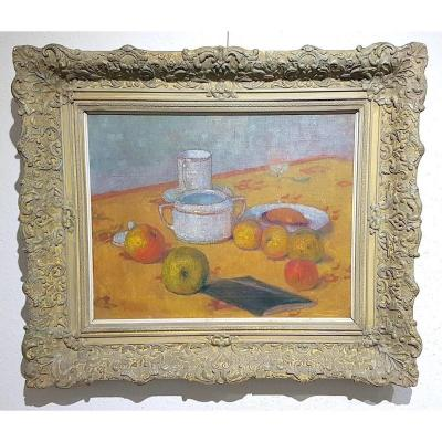 Impressionist Still Life With Fruits
