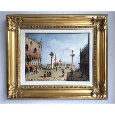 Vue De La Place Saint-marc à Venise De Grubacs