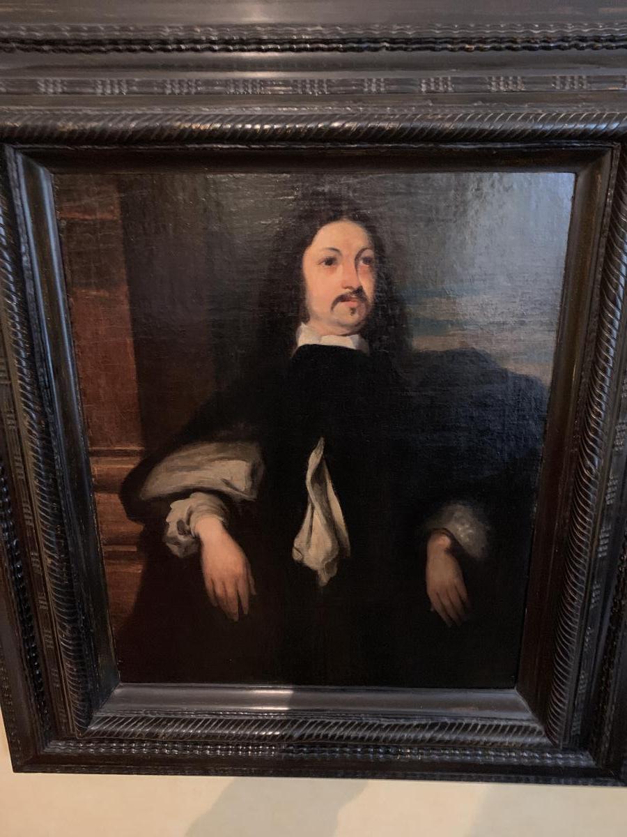 Follower De Van Dyck, Portrait Of The Marquis Of Spa Flemish School Seventeenth