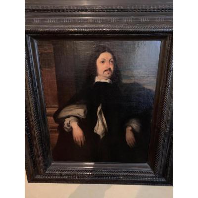 Suiveur De Van Dyck , Portrait Du Marquis De Spa école Flamande Du XVIIème