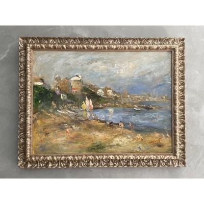 Table By Michel Calvet, Born In 1956 Propriano Corsica