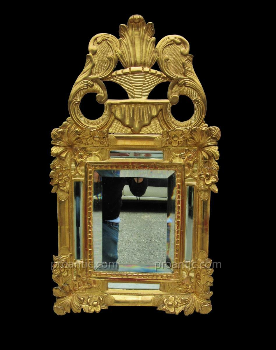 Mirror In Golden Wood Parecloses And Fronton Early 19th
