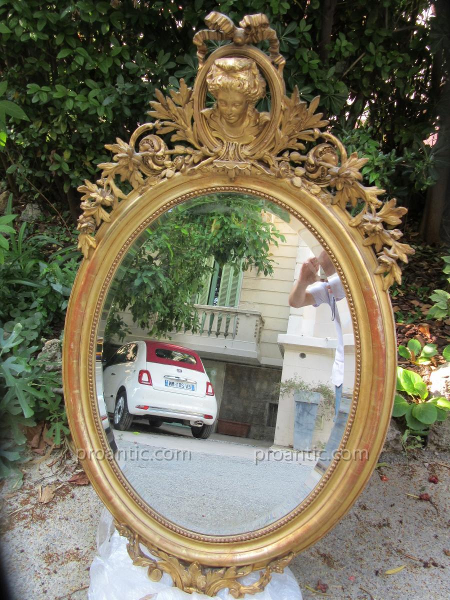 Oval Mirror Decor With Marquise Ep.19th
