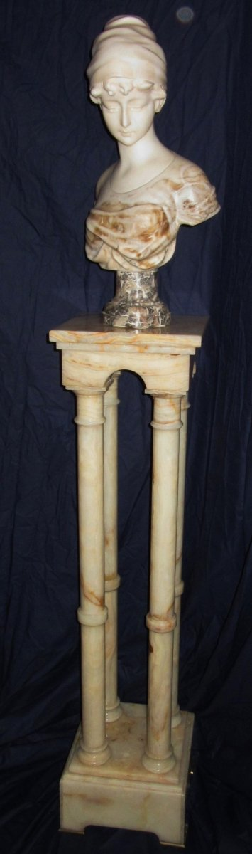 Column In Onyx Epoque 19th