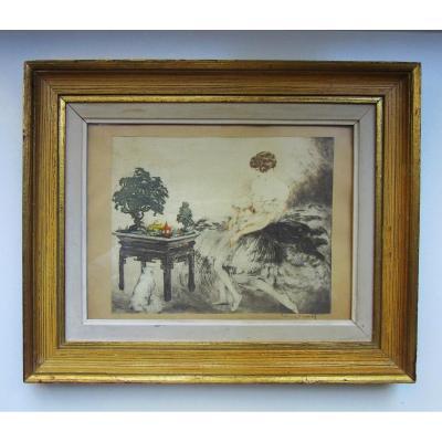 Estampe Louis Icart (1888-1950)