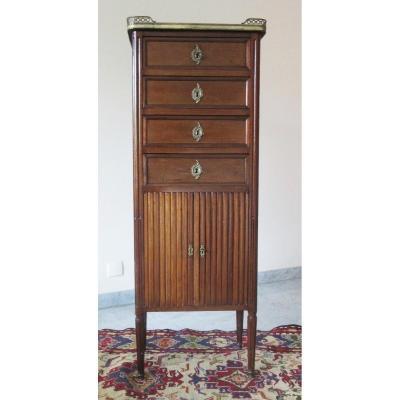 Louis XVI Style Mahogany Cabinet