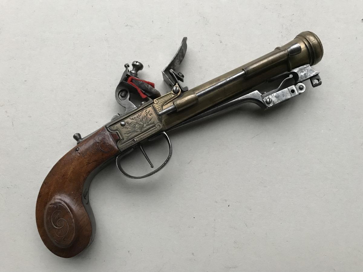 Pistolet Tromblon Marine A Bayonette