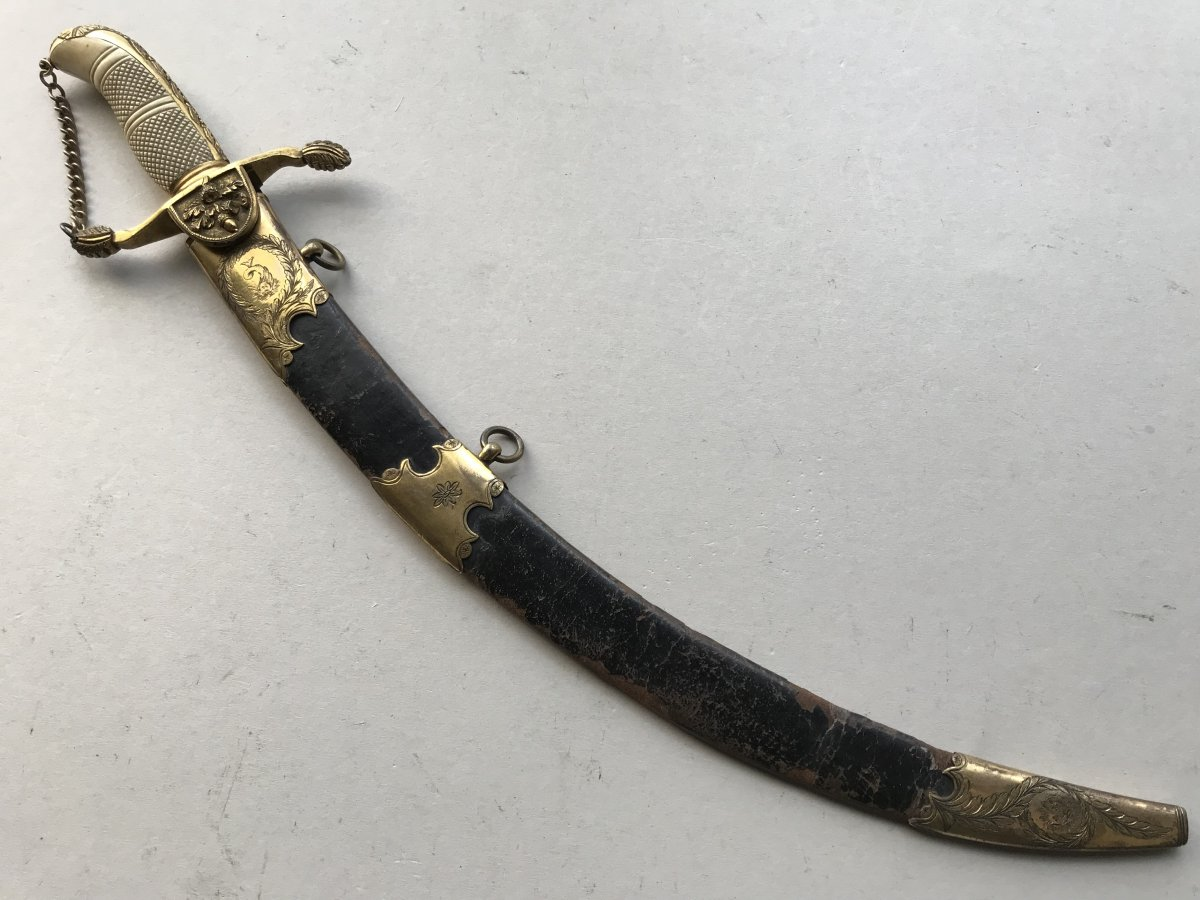 Large English Navy Dagger Of The Napoleon I Period
