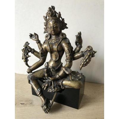Bronze probablement Chinois ou des Indes