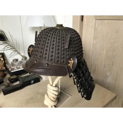 Samurai Helmet With Zaboshi Rivets