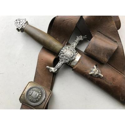 Dague De Chasse De Louvetier De Paris