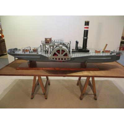 Dawn Wheel Boat Model