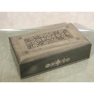 Niellated Metal Box