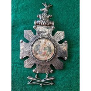 Médaille de l'ancien Ordre des Forestiers, Angleterre, argent