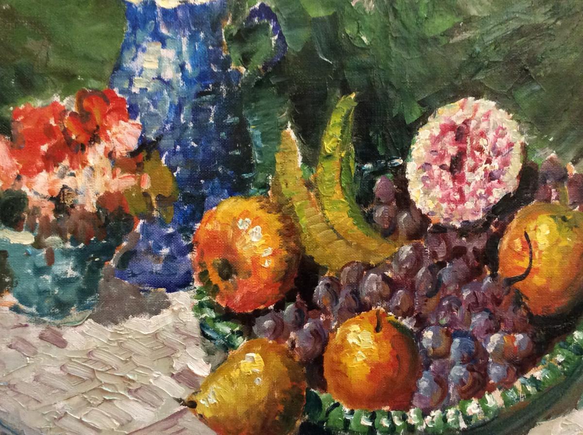 Merio Ameglio - Nature Morte Aux Fruits -photo-2