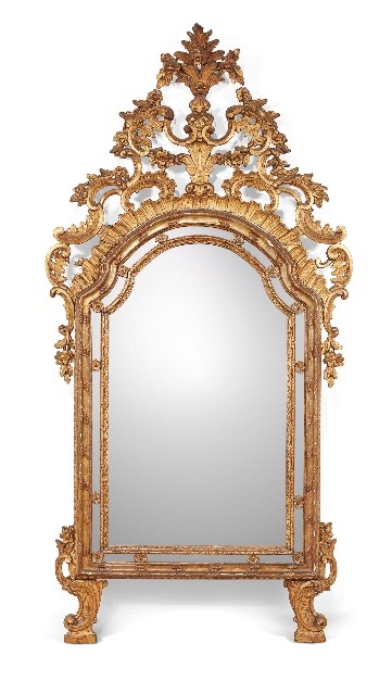 Important Miroir à Parcloses - Italie XVIIIème