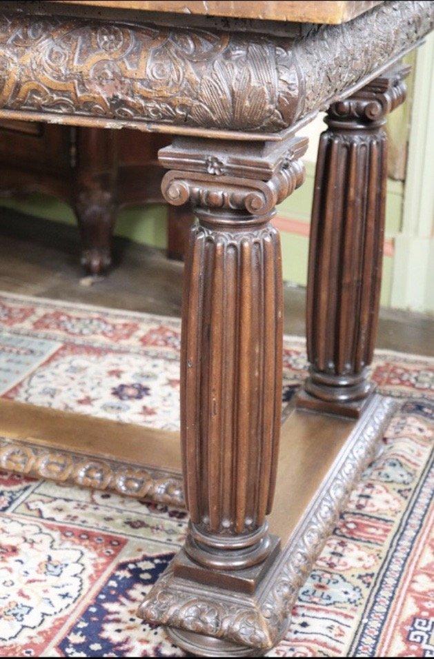 Table De Monastère En Bois Naturel - XVII ème