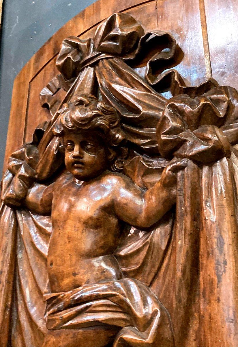 Important Panneau De Boiserie - XVIIIème-photo-3