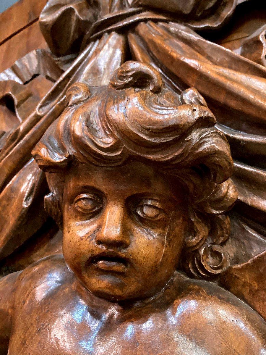 Important Panneau De Boiserie - XVIIIème-photo-2