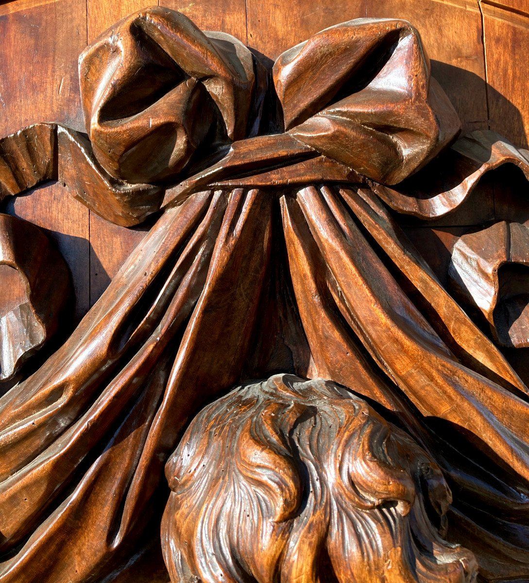 Important Panneau De Boiserie - XVIIIème-photo-4