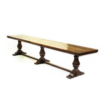 Importante Table De Communauté En Noyer - XVIIIème