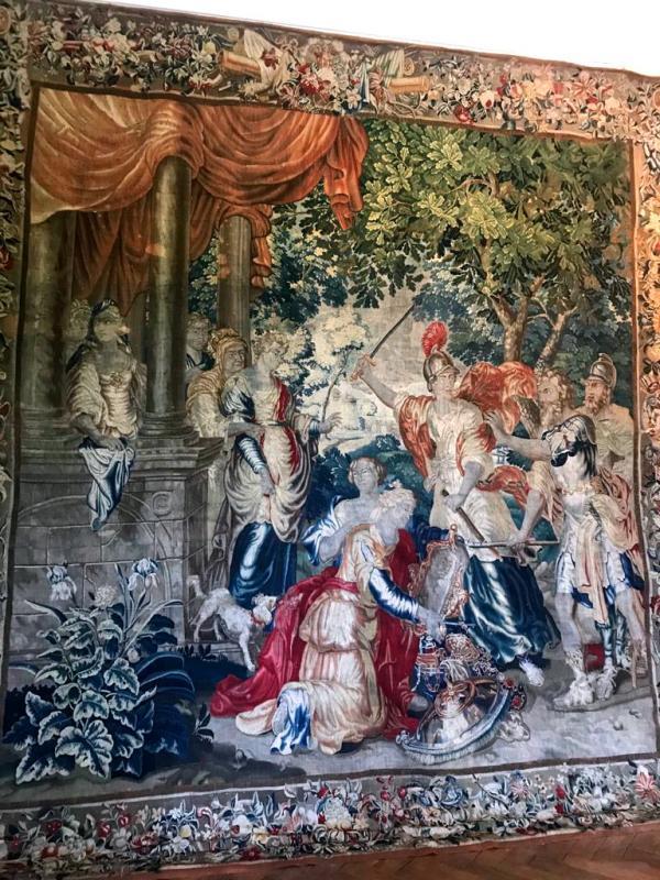 Tapisserie De Bruxelles à Décor Polychrome - Fin XVIIème-photo-2