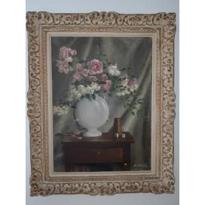 Henri Déziré - Bouquet Of Roses