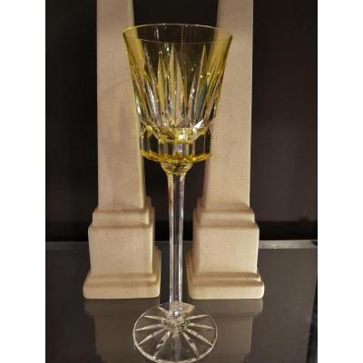 T Grand Verre du Rhin Cristal MultiCouche Saint Louis 25 Cm
