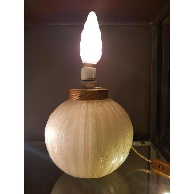 Daum Art Deco Lamp