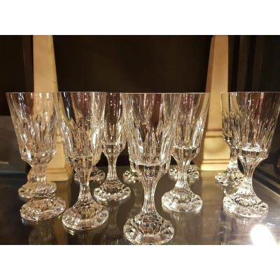 Service Baccarat Crystal Glasses Assas