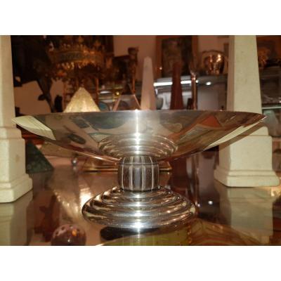 Puiforcat Massive Silver Cup Art Deco