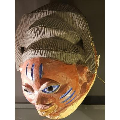 Nigerian Tribal Yoruba Mask