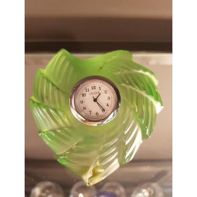 Lalique Horloge Pendulette Pendule