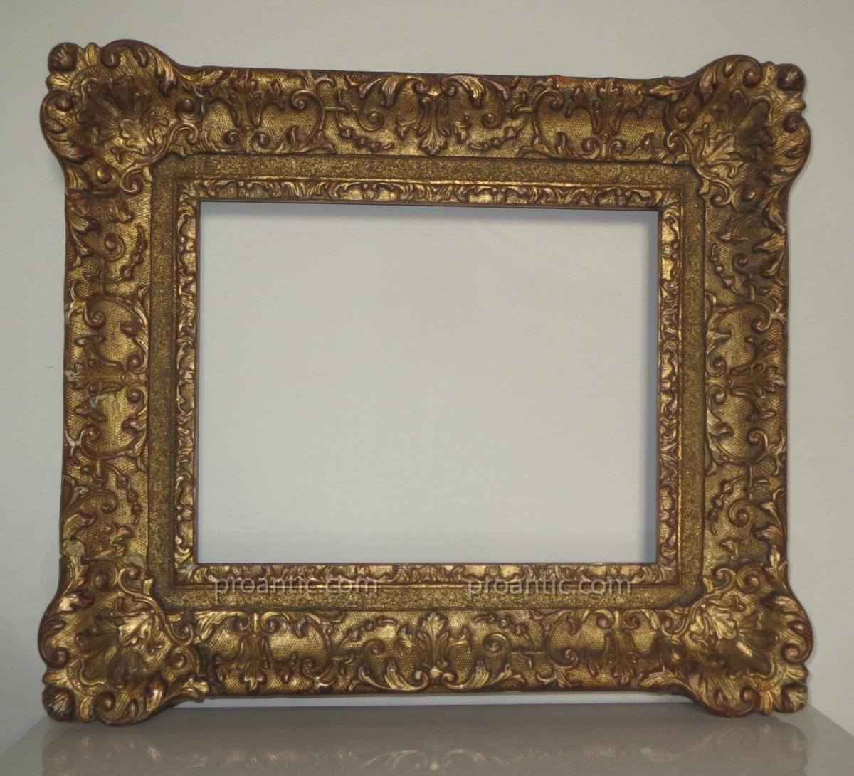 Carved And Gilded Wood Frame Louis XIV - old frames
