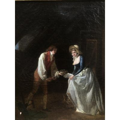 Charming Interior Scene, The Find Of A Nest