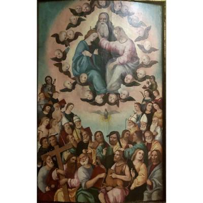 Couronnement De La Vierge Et De Tous Ses Saints