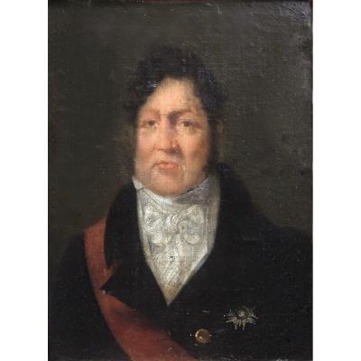 Portrait Du Roi Louis Phillipe