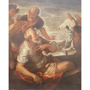 Christ Marchant Sur Les Eaux